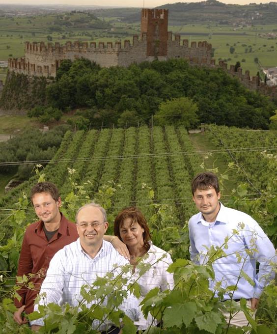 SV Pieropan Family Dario, Leonildo, Teresita, Andrea