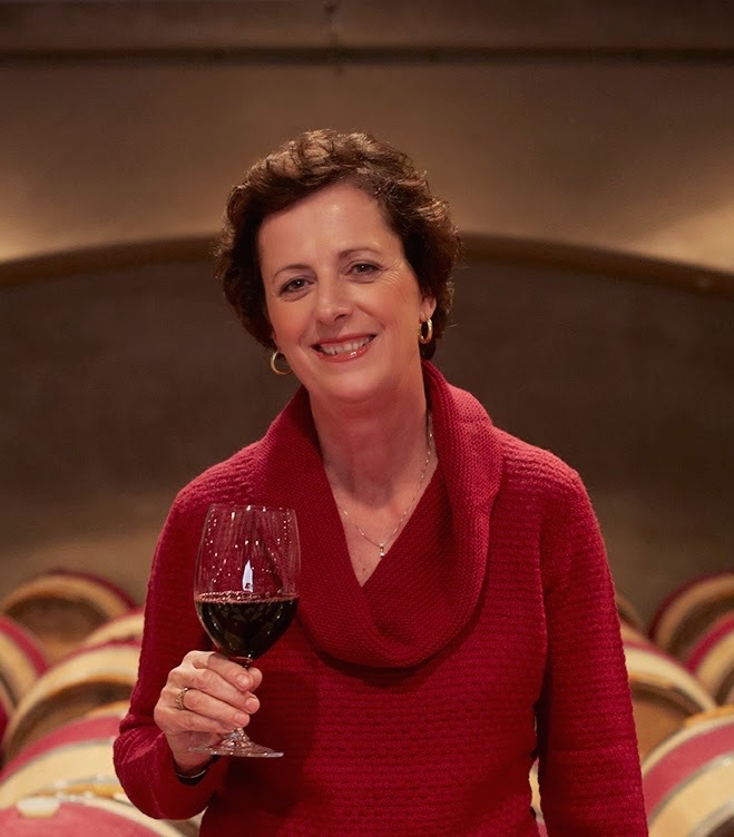 Winemaker Geneviève Janssens