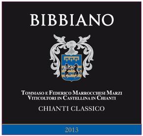 Bibbiano Chianti Classico 2013 Front Label