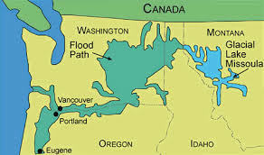 WA Glacial Lake Map