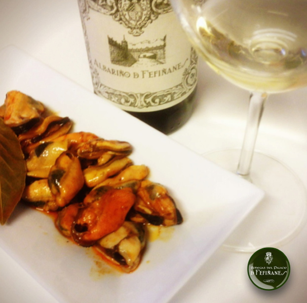 Albariño with Mussels