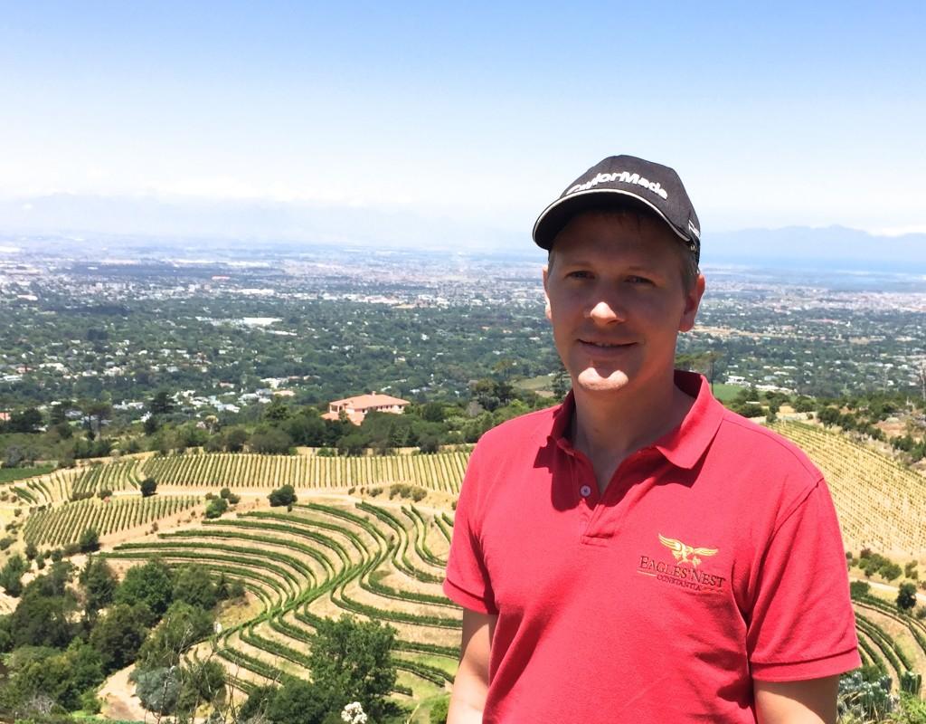 Winemaker Stuart Botha