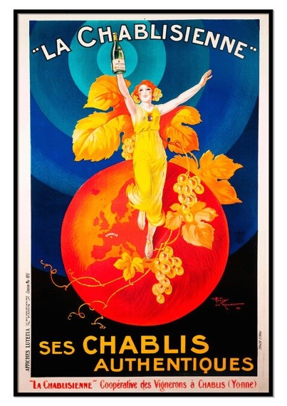 ART Chablisienne Poster
