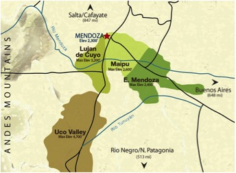 ART Trivento Map