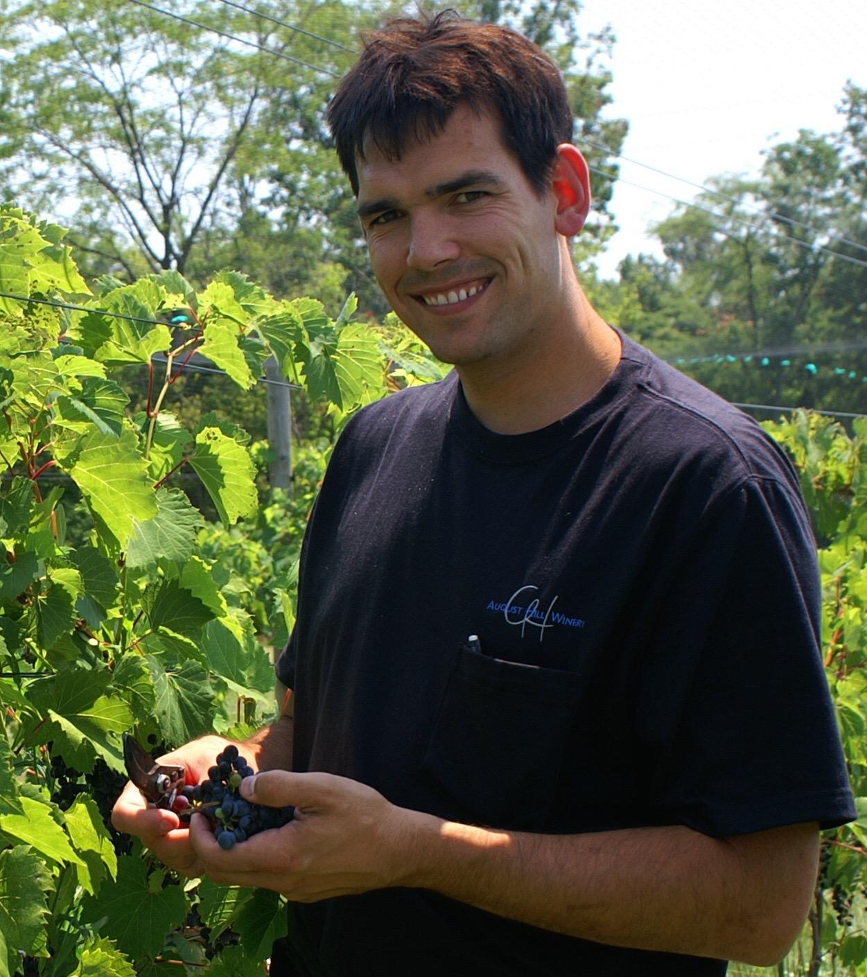 Winemaker Mark Wenzel