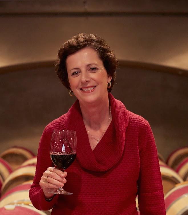 Winemaker Geneviève Janssens