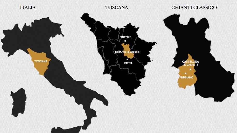 CHCL Bibbiano Map