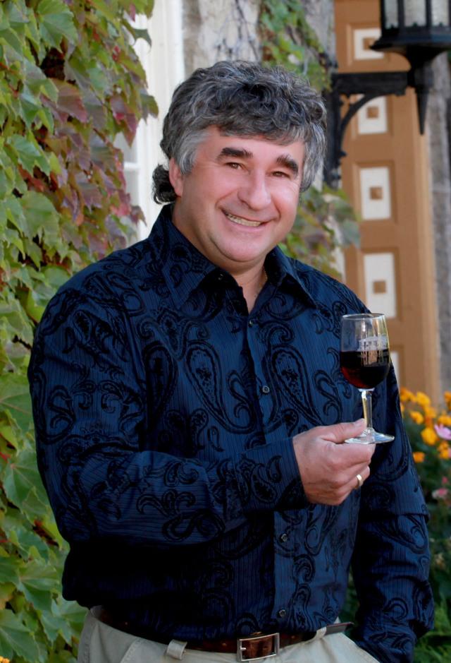 Winemaker Philippe Coquard