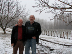 Don and Mike at San Pablo Vineyard