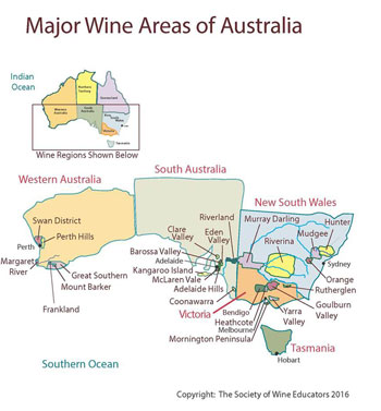 SouthAfrica Wine Map