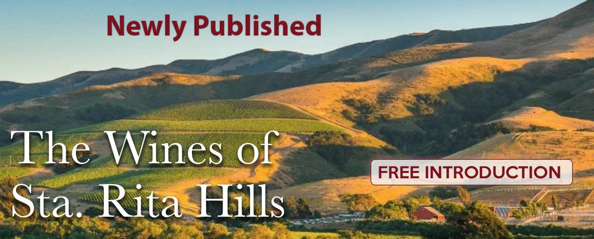 Recently Published - Sta. Rita Hills : A New Look