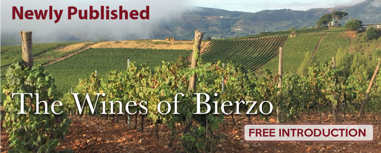 Recently Published - The Wines of Bierzo